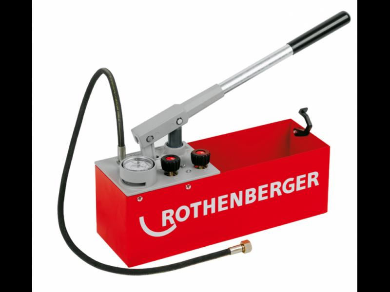 Poza Pompa testare presiune instalatii RP 50-S Rothenberger 60200 , presiune maxima 60 bar