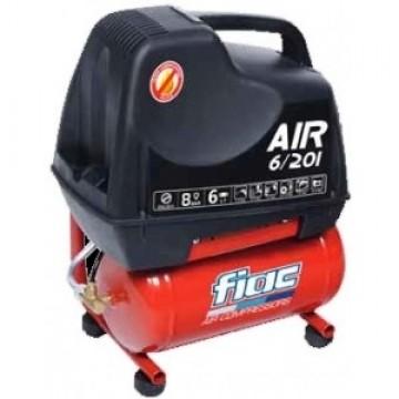 poza Compresor FIAC cu piston, fara ulei, AIR 6/201