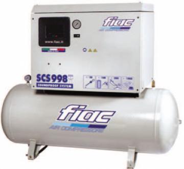 poza Compresor cu piston, insonorizat, tip SCS598/300