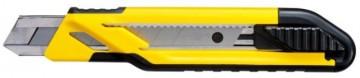 poza CUTTER PLASTIC LAMA 18mm MUCHIE METALICA