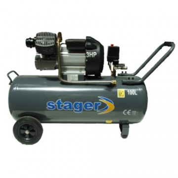 Poza Compresor Stager HM3100V 3CP, 100L, 8bar