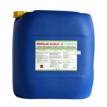 poza Dezinfectant degresant pentru mulgatori Diemolan Alcalic Diemer 5 kg
