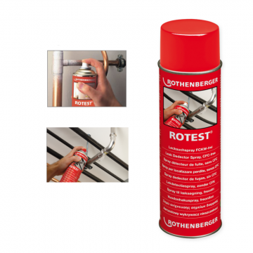 poza Spray Rothenberger pentru detectat scapari gaze tip ROTEST 600 ml