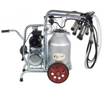 poza Aparat de muls vaci EMT2+1A50, un bidon aluminiu 50 litri, 2 posturi