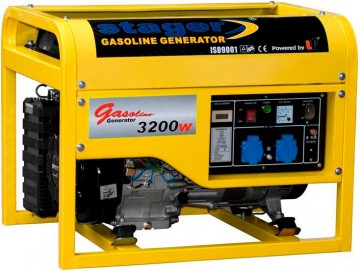 poza Generator open frame benzina Stager GG4800
