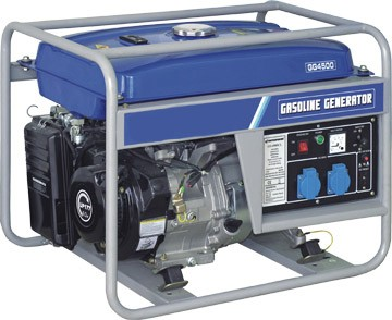 poza Generator de curent monofazat Stager GG 4500 benzina 38 KW 9 CP portabil