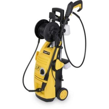poza Masina de curatat cu presiune Power Plus POWXG9030, 1900 W, 135 bar, 390 l/h, rola furtun, perie pentru pardoseli