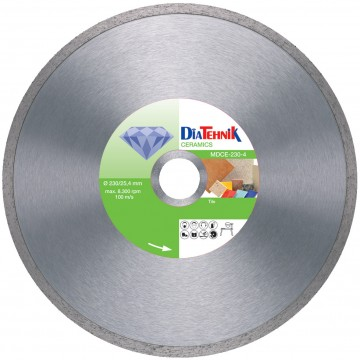 poza Disc diamantat Ceramics 180x30mm pentru gresie si faianta [MDCE-180-5]