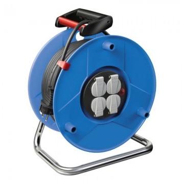poza Prelungitor rola tip tambur cu priza multipla,Brennenstuhl H05VVF 3G1.5 E,4 posturi, 50m, 1205066
