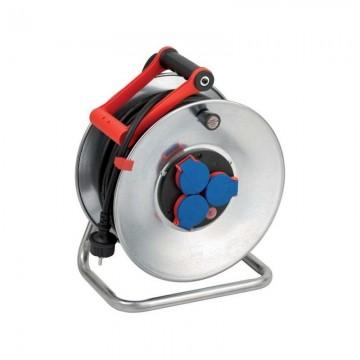 poza Derulator cu tambur metalic Brennenstuhl H07RNF 3G1.5, 25 m 1198390